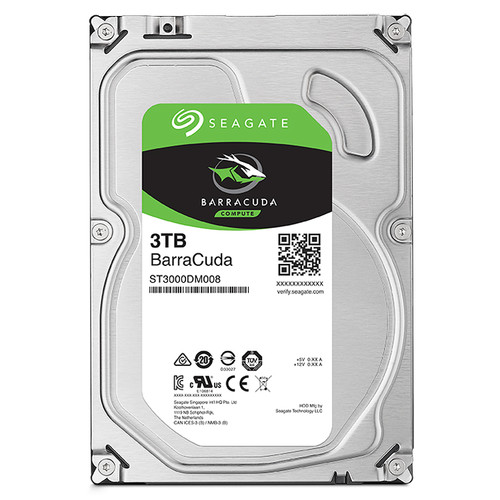 "Seagate 3TB BarraCuda SATA III 3.5"" Internal HDD"