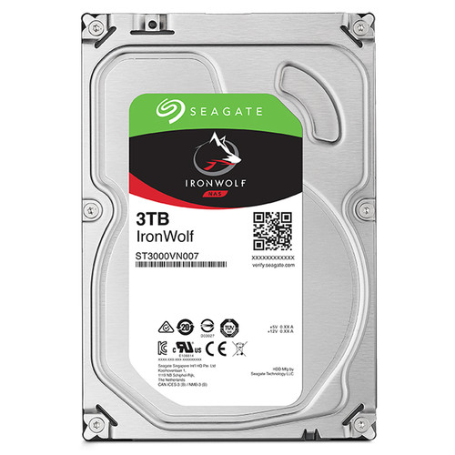 "Seagate 3TB IronWolf 5900 rpm SATA III 3.5"" Internal NAS HDD"
