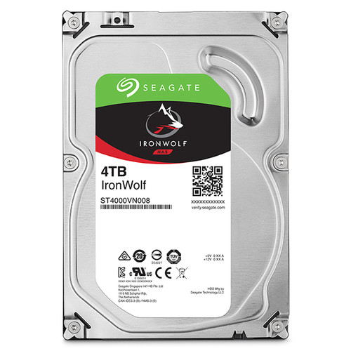 "Seagate 4TB IronWolf 5900 rpm SATA III 3.5"" Internal NAS HDD"