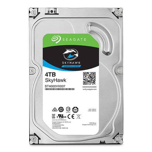 "Seagate 4TB SkyHawk Surveillance SATA III 3.5"" Internal Hard Drive (Retail)"