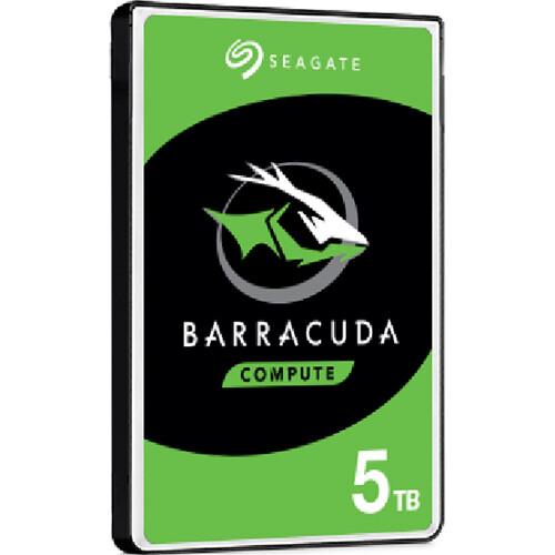 """Seagate 5TB BarraCuda Compute 5400 rpm SATA 2.5"""" Internal HDD"""
