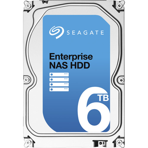 "Seagate ST6000VN0011 3.5"" Enterprise NAS 7200 RPM Internal Hard Drive + Rescue Data Recovery (6TB)"