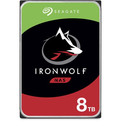 "Seagate 8TB IronWolf 7200 rpm SATA III 3.5"" Internal NAS HDD (CMR, Retail)"