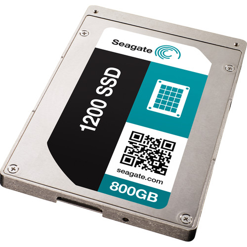 "Seagate 800GB 1200 2.5"" SAS SED Internal SSD (OEM)"