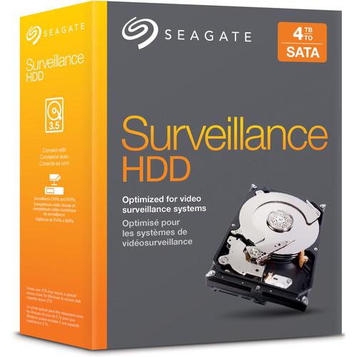 Seagate STBD4000101 Surveillance SATA Hard Drive (4TB)