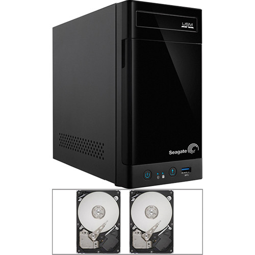 Seagate 6TB (2 x 3TB) STBN100 2-Bay NAS Enclosure Kit with Drives