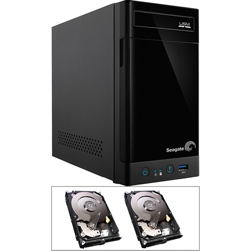 Seagate 8TB (2 x 4TB) STBN100 2-Bay NAS Enclosure Kit with Drives