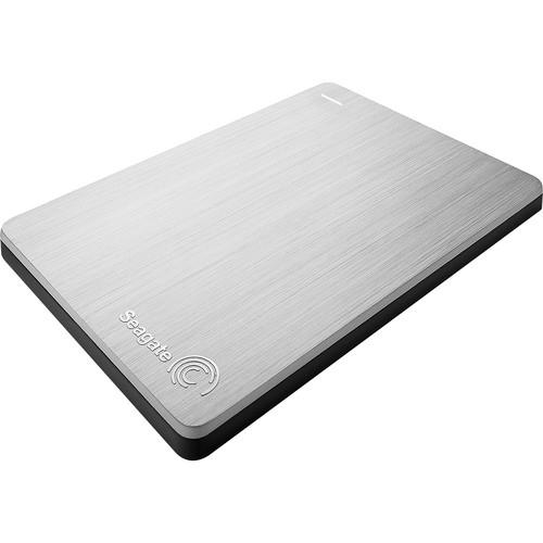 Seagate 500GB Backup Plus Slim Portable External USB 3.0 Hard Drive (Silver)