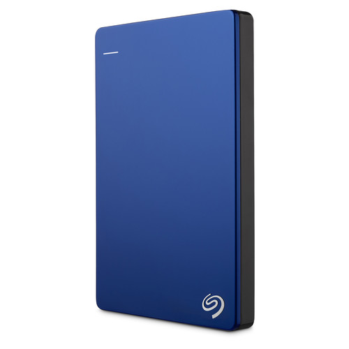 Seagate 2TB Backup Plus Slim Portable External USB 3.0 Hard Drive (Blue)
