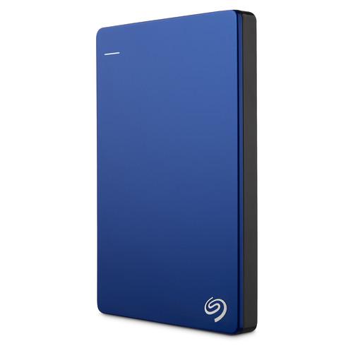 Seagate 2TB Backup Plus Slim Portable External USB 3.0 Hard Drive (Blue)