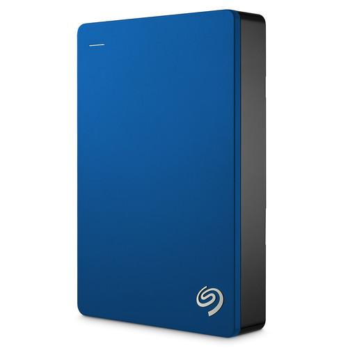 Seagate 5TB Backup Plus Portable Hard Drive (Blue)