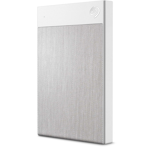 Seagate 1TB Backup Plus Ultra Touch External Hard Drive (White)