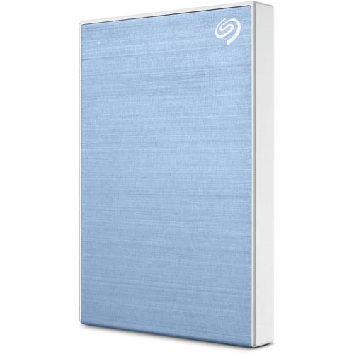 Seagate 1TB Backup Plus Slim USB 3.0 External Hard Drive (Light Blue)
