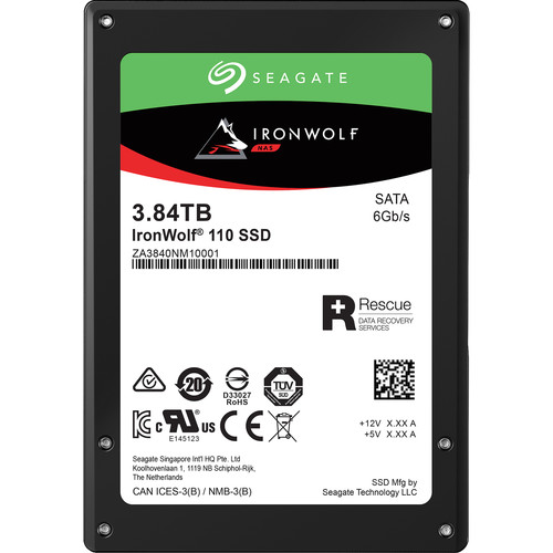 Seagate 3.84TB Ironwolf 110 Sata SSD