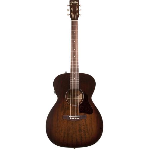 Seagull Guitars A&L Legacy Q1T Concert Hall Acoustic/Electric Guitar (Bourbon Burst)