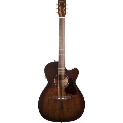 Seagull Guitars A&L Legacy CW Q1T Concert Hall Acoustic/Electric Cutaway Guitar (Bourbon Burst)