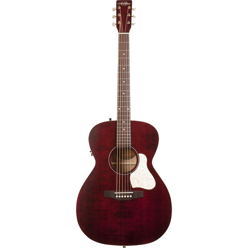 Seagull Guitars A&L Legacy Q1T Concert Hall Acoustic/Electric Guitar (Tennessee Red)