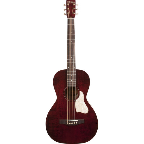 Seagull Guitars A&L Roadhouse Tennessee Red A/E Guitar With Bag