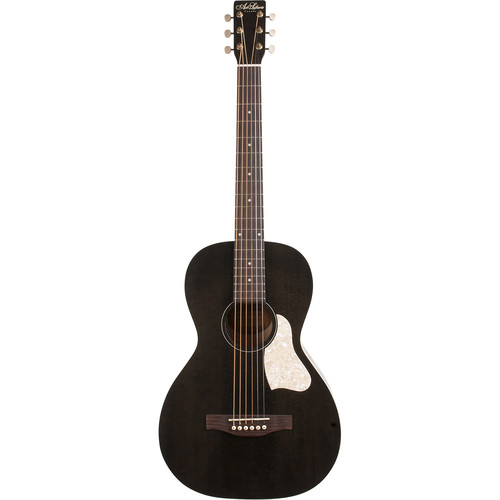 Seagull Guitars A&L Roadhouse Faded Black A/E Guitar With Bag