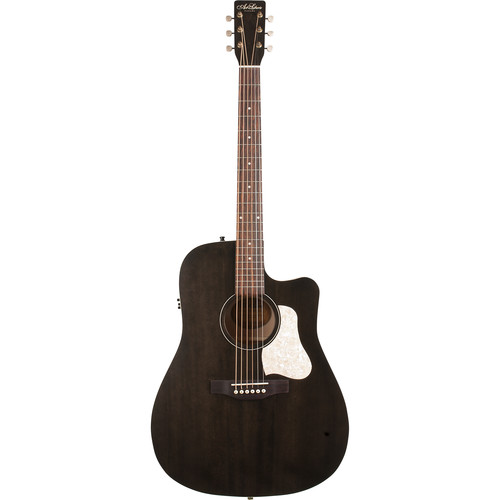 Seagull Guitars A&L Americana Faded Black CW QIT Guitar
