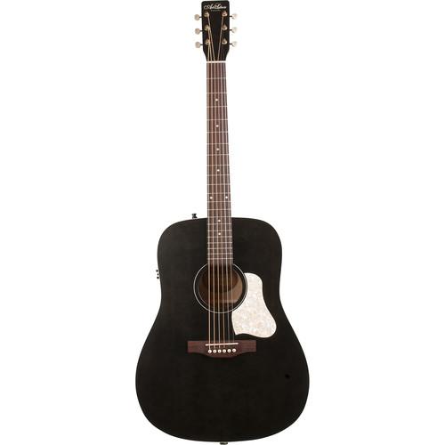 Seagull Guitars A&L Americana Faded Black QIT Guitar