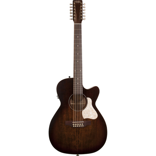 Seagull Guitars A&L Legacy CW 12-String Concert Hall 12-String Acoustic/Electric Guitar (Bourbon Burst)