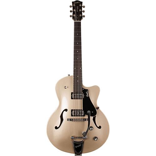 Seagull Guitars Guitar - 5Th Avenue Uptown LTD (Silver Gold)