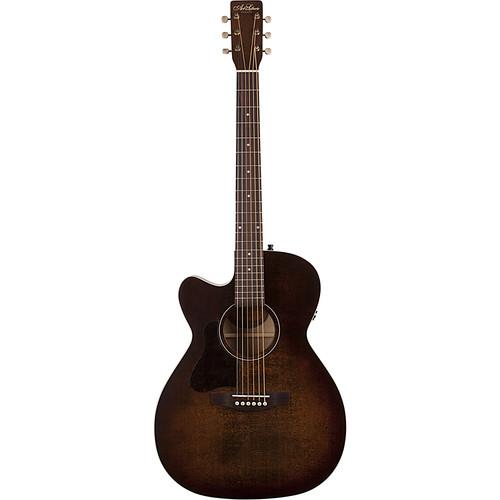Seagull Guitars A&L Legacy CW Q1T Concert Hall Acoustic/Electric Cutaway Guitar (Bourbon Burst)