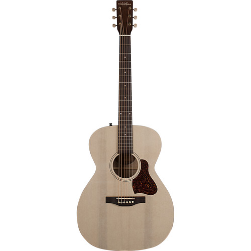 Seagull Guitars A&L Roadhouse A/E Parlor-Style Acoustic/Electric Guitar (Faded Cream)