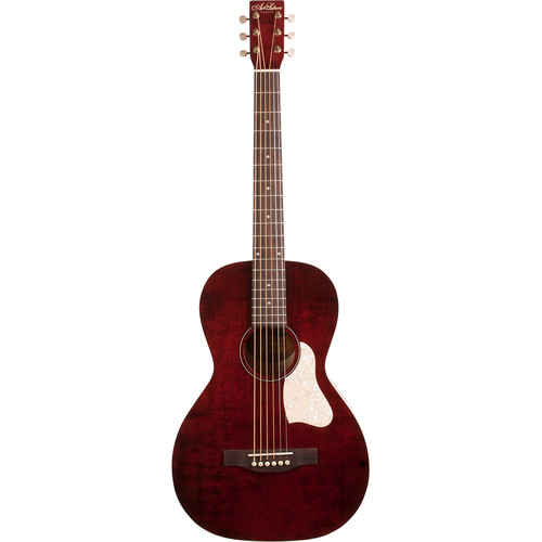 Seagull Guitars Al Roadhouse Guitar with Bag (Tennesse Red)