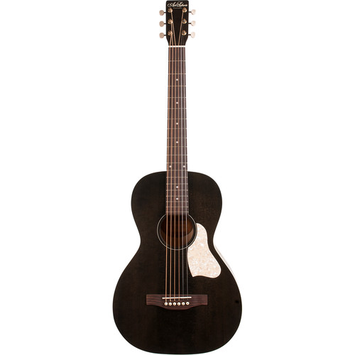 Seagull Guitars A&L Roadhouse Parlor-Style Acoustic Guitar (Faded Black)