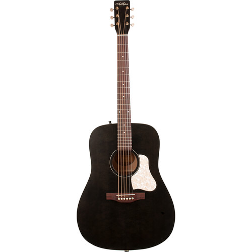 Seagull Guitars A&L Americana Dreadnought-Style Acoustic Guitar (Faded Black)