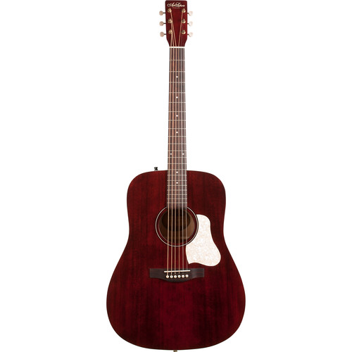 Seagull Guitars A&L Americana Dreadnought-Style Acoustic Guitar (Tennessee Red)