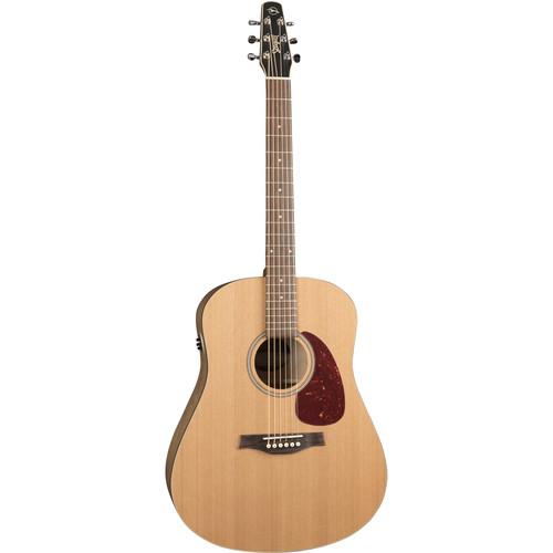 Seagull Guitars S6 Original Slim QIT Acoustic Guitar (Right-Handed, Custom Semi-Gloss)