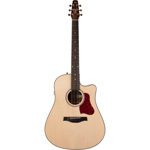 Seagull Guitars Maritime Solid Wood Series CW GT QIT Acoustic Guitar (Right-Handed, Gloss Top)