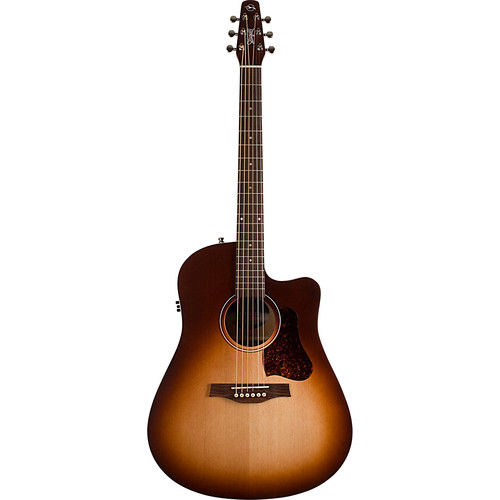 Seagull Guitars Entourage Autumn Burst CW QIT Acoustic/Electric Guitar (Right-Handed, Semi-Gloss)