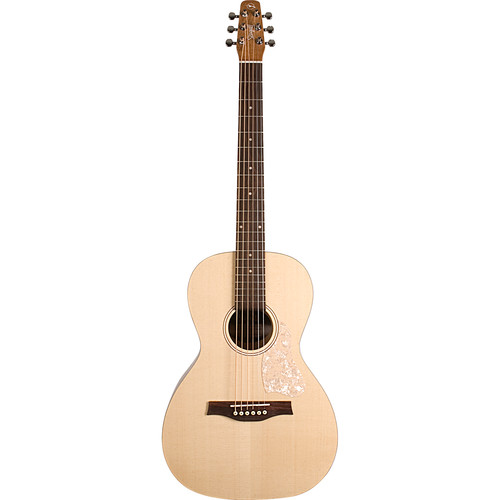 Seagull Guitars Entourage Grand Natural Almond Acoustic Guitar (Right-Handed, Semi-Gloss)