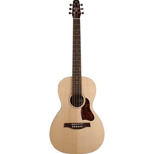 Seagull Guitars Entourage Grand Natural A/E Acoustic Guitar (Right-Handed, Semi-Gloss)