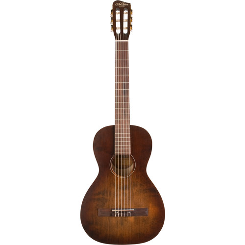 Seagull Guitars A&L Roadhouse Nylon Parlor-Style Nylon-String Classical Guitar (Bourbon Burst)