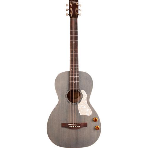 Seagull Guitars A&L Roadhouse Q-Discrete Parlor-Style Acoustic/Electric Guitar (Denim Blue)
