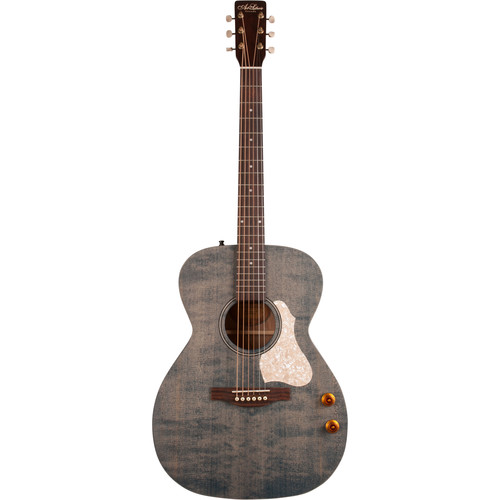 Seagull Guitars A&L Legacy Q-Discrete Concert Hall Acoustic/Electric Guitar (Denim Blue)