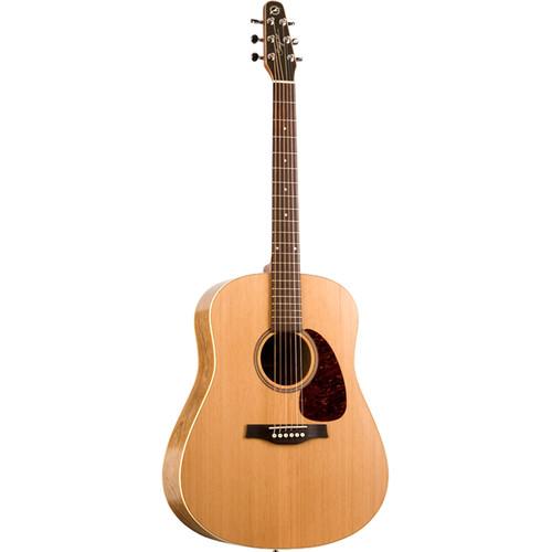 Seagull Guitars S6 Original Slim QI Acoustic/Electric Guitar (Natural Semi-Gloss)