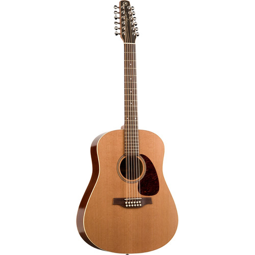 Seagull Guitars Coastline S12 Cedar 12-String Acoustic Guitar (Natural Semi-Gloss)
