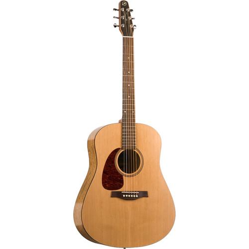 Seagull Guitars S6 Original Acoustic Guitar (Left-Handed,Natural Semi-Gloss)