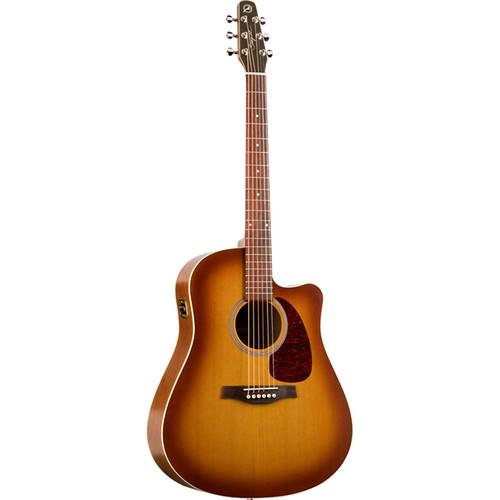 Seagull Guitars Entourage Rustic CW QI Acoustic/Electric Guitar (Rustic Burst)