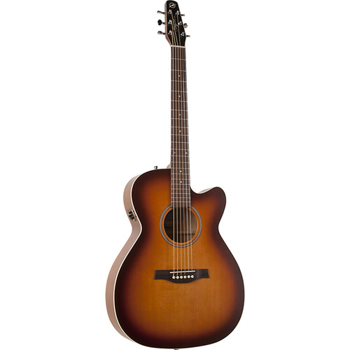 Seagull Guitars Entourage Rustic CW Concert Hall QIT Acoustic/Electric Guitar (Rustic Burst)