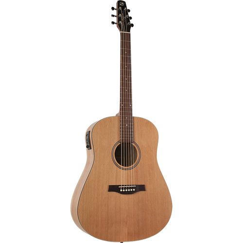 Seagull Guitars S6 Classic M-450 Acoustic/Electric Guitar (Natural Semi-Gloss)