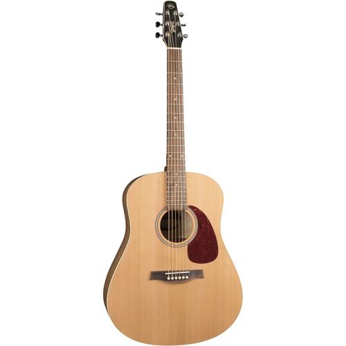 Seagull Guitars S6 Cedar Original Slim Acoustic Guitar (Natural Semi-Gloss)