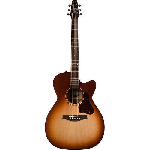 Seagull Guitars Entourage Rustic CW Concert Hall Acoustic/Electric Guitar (Rustic Burst)