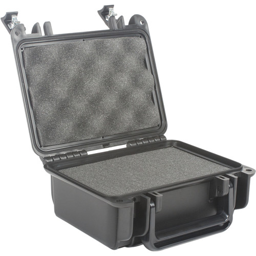 Seahorse 120 Protective Case with Foam and Metal Keyed Locks (Gun Metal Gray)